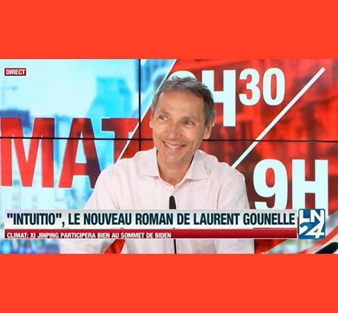 Laurent Gounelle invité de la télévision belge
