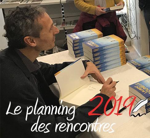 Les rencontres de Laurent Gounelle en 2019